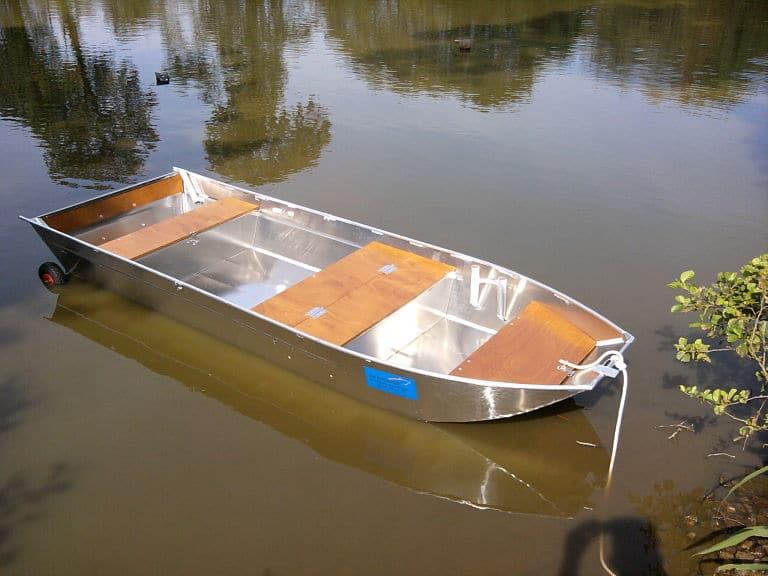 Barco pesca alumínio ligero